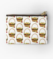 Red and Green apples Studio Pouch
