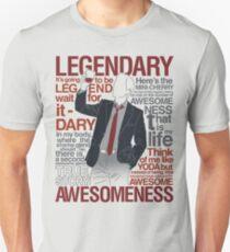 Barney Stinson - Legendary T-shirt of Awesomeness Unisex T-Shirt