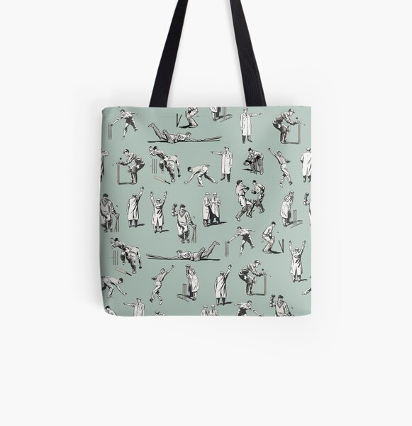 Cricket (Teal) All Over Print Tote Bag