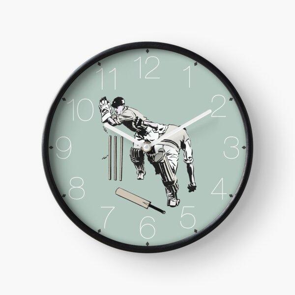 Cricket (Teal) Clock