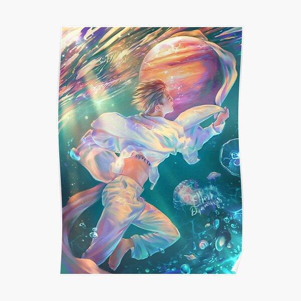 Jimin DREAMGLOW Poster