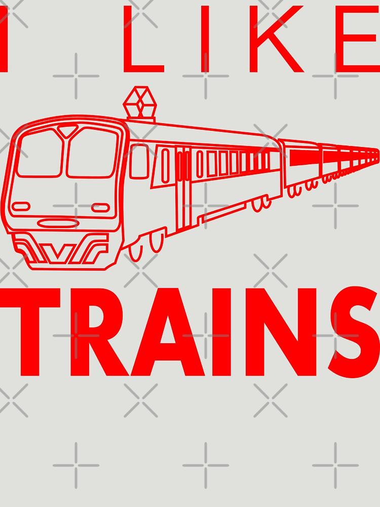 I like trains by RixzStuff