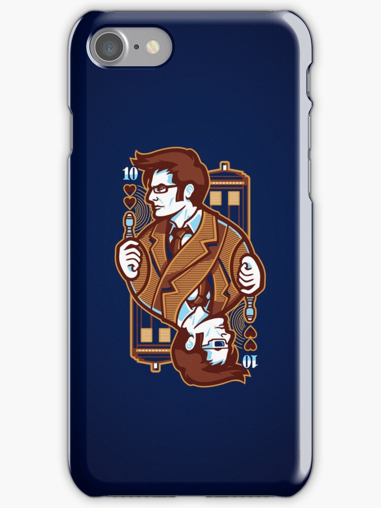 10th of Hearts - IPHONE CASE by WinterArtwork