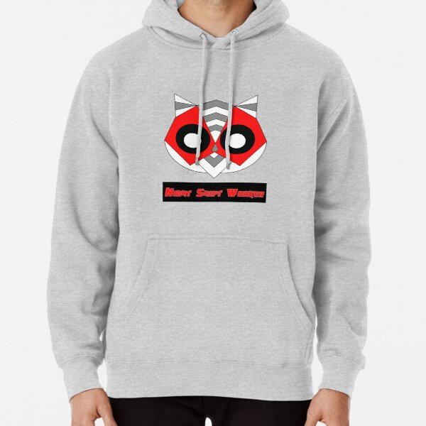 Night Shift Worker_red Pullover Hoodie