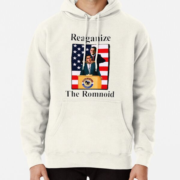 Reaganize the romnoid 1 Pullover Hoodie
