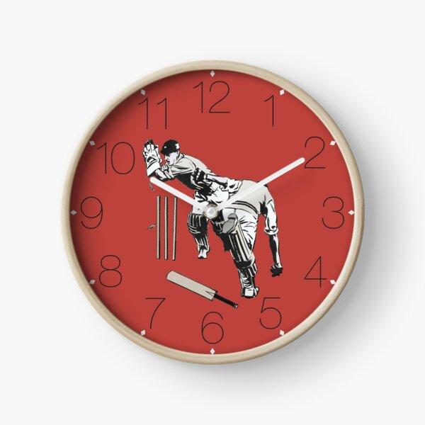 Cricket (Red) Clock