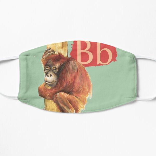 B is for Borneo Orangutan Mask