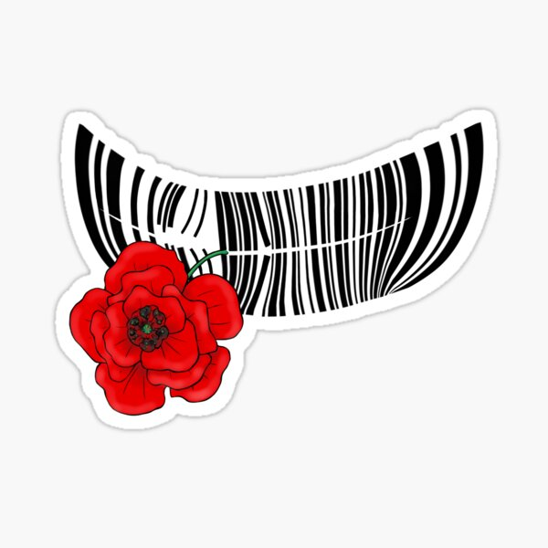 The End of Barcodes Sticker