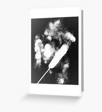 Bulrush photo gram Greeting Card