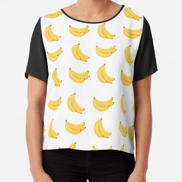 Banana print Chiffon Top