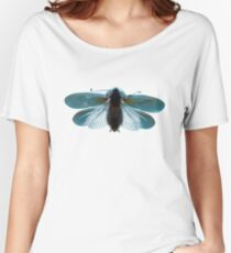 Blue Moth Women's Relaxed Fit T-Shirt