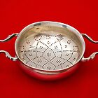 18th century George III silver punch strainer made in London by Kawka
