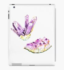 Amethyst Crystal and Geode iPad Case/Skin