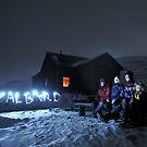Svalbard light show at Rusanova by Algot Kristoffer Peterson