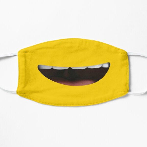 Funny Minion Smile Smiley Emoji Face Flat Mask