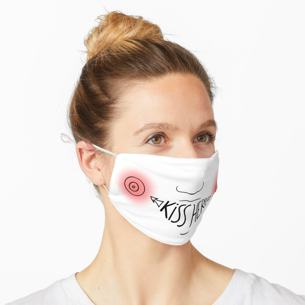 Kiss Here Mask