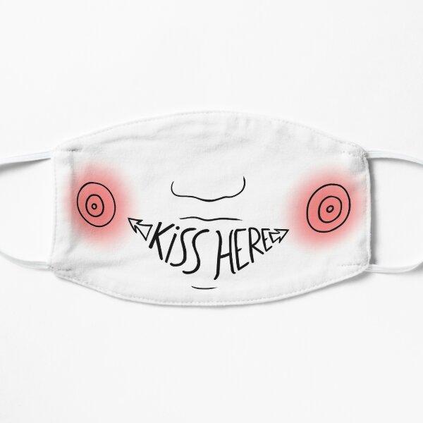 Embrassez ici - EN Masque sans plis