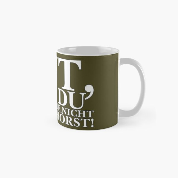 Good thing you don't hear me thinking right now! Dark Classic Mug