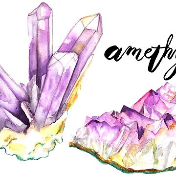Amethysts With Text by sadiesavesit