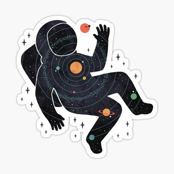 Inner Space Sticker