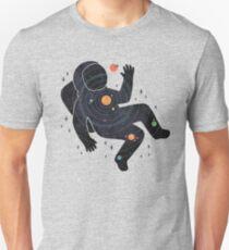Camiseta unisex Espacio interior