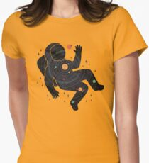 Inner Space Womens Fitted T-Shirt