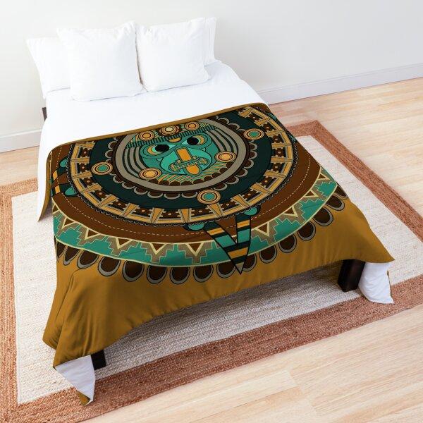 Aztec Calendar Comforter