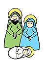 Holy Family by Soxy Fleming