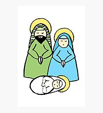 Holy Family Photographic Print