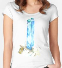 Aquamarine Women's Fitted Scoop T-Shirt