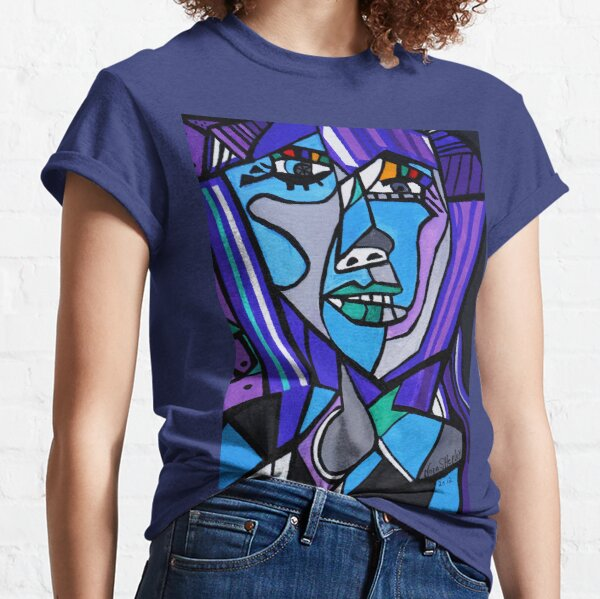 ART DECO   PICASSO BY NORA Classic T-Shirt