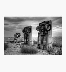 Carhenge Photographic Print