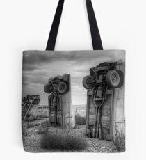 Carhenge Tote Bag