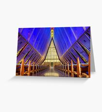 Air Force Academy Chapel Colorado Springs Greeting Card