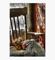 Still Waiting Photographic Print