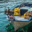 Boat in Vromi by Antonio Zarli