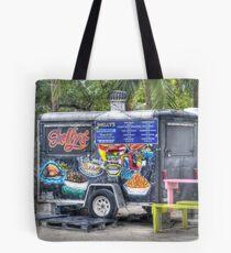 Food Van at Arawak Cay in Nassau, The Bahamas Tote Bag