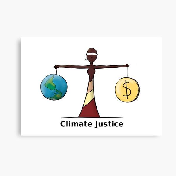 Climate Justice - EN Canvas Print