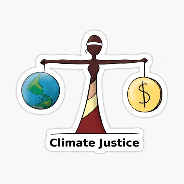 Climate Justice - EN Sticker