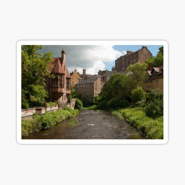 Dean Village Edinburgh  Sticker