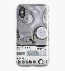 audio rec tape deck vintage iPhone Case/Skin