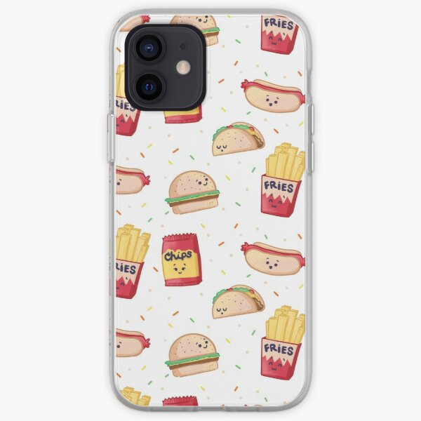 Gotta have some junkfood! iPhone Soft Case