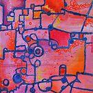 Dichotomy, Abstract oil painting by Regina Valluzzi by Regina Valluzzi