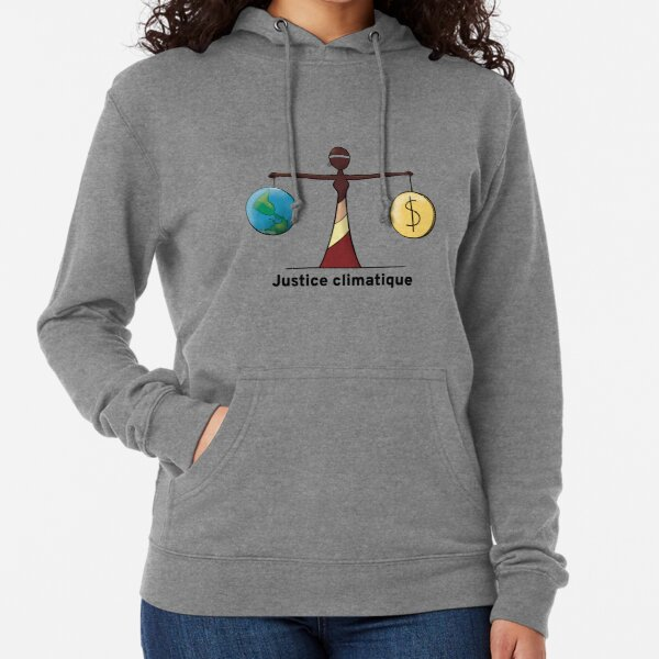 Climate Justice - FR Lightweight Hoodie