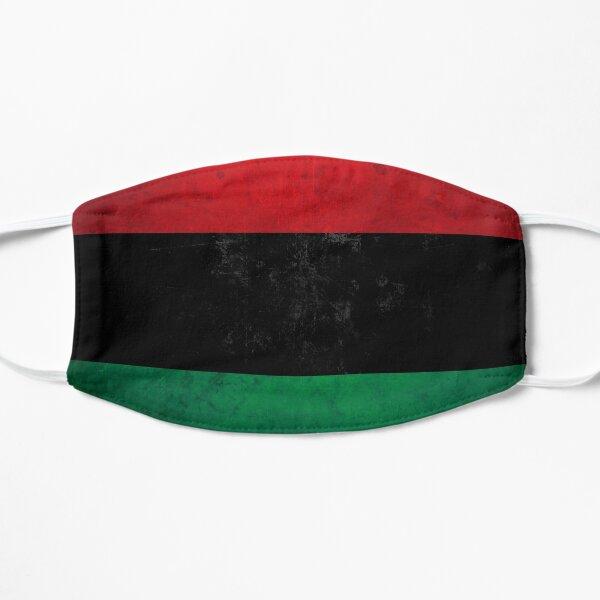 Distressed Afro-American / Pan-African / UNIA flag Flache Maske