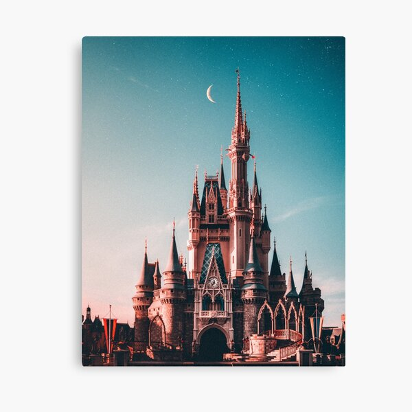 Castle of happiness Canvas Print