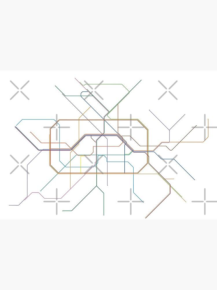 Berlin Rail Map by in-transit
