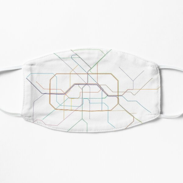 Berlin Rail Map Mask