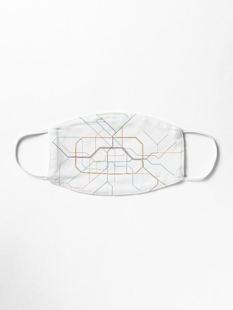 Alternate view of Berlin Rail Map Mask
