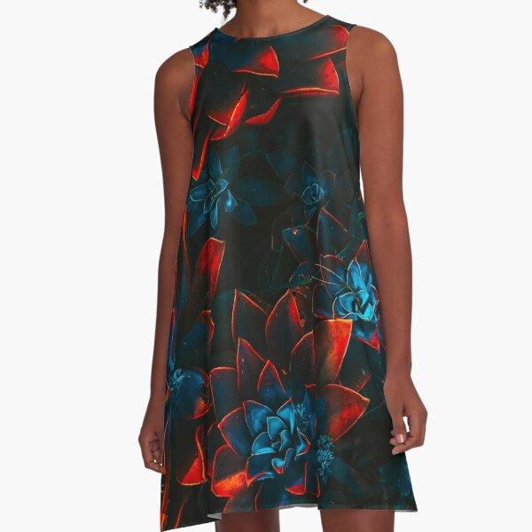 REDBLUE PLANT A-Line Dress